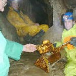 Skirwith Cave, clean-up
